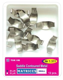 Saddle Contoured Metal Matrices TORVM - 1.311  12 бр. small
